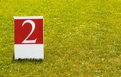 Liczby 2 pojęcia drugi fotografia (dwa) Obraz Stock