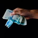liczenie pieniędzy Zdjęcie Royalty Free