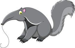 Śliczna anteater kreskówka Zdjęcie Royalty Free
