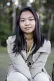 Śliczna Azjatycka Dziewczyna Zdjęcie Stock