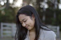 Śliczna Azjatycka Dziewczyna Fotografia Royalty Free
