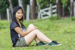 Śliczna Azjatycka Dziewczyna Obrazy Stock
