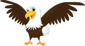 Śliczna Eagle kreskówka Zdjęcie Stock