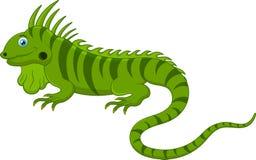 Śliczna kameleon kreskówka Zdjęcia Royalty Free