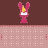 śliczna karciana królik kreskówka Royalty Ilustracja