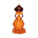 Śliczna kolekcja piękny princess Obraz Stock