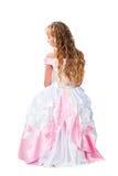 Śliczna nastoletnia dziewczyna z target1275_0_ długich blondyny Fotografia Stock
