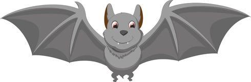 Śliczna nietoperz kreskówka Zdjęcie Royalty Free