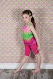 śliczna podłogowa dziewczyna Fotografia Stock