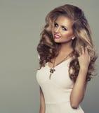 Śliczna seksowna blond kobieta Obraz Royalty Free