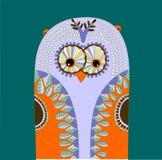 śliczna sowa Obrazy Royalty Free