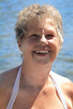 Śliczna Starsza dama Zdjęcia Royalty Free