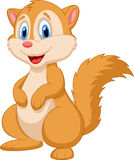 Śliczna wiewiórcza kreskówka Zdjęcie Royalty Free