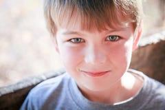 śliczni chłopiec potomstwa Obraz Royalty Free