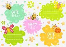 Śliczni insekty Obraz Royalty Free