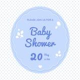 Śliczny dziecko prysznic zaproszenie Zdjęcie Stock