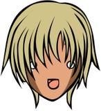 Śliczny emoticon styl Obraz Royalty Free