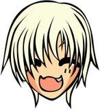 Śliczny emoticon styl zdjęcie royalty free
