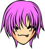 Śliczny emoticon styl Fotografia Royalty Free