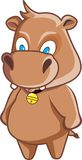 śliczny hipopotam Zdjęcia Stock