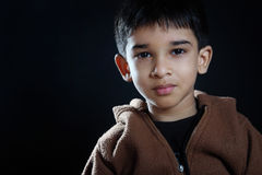 Śliczny indianin Little Boy Obrazy Royalty Free