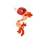 śliczny kobiety ryba splendor Ilustracja Wektor