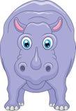 śliczny kreskówka hipopotam Zdjęcia Stock