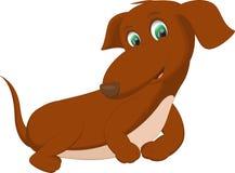 śliczny kreskówka pies Fotografia Royalty Free