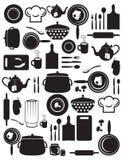Śliczny kuchnia wzór Zdjęcie Stock