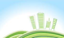 śliczny miasta eco Obraz Royalty Free