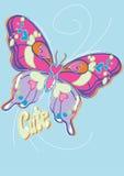 Śliczny motyl. Fotografia Stock