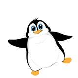 Śliczny pingwin ilustracja wektor