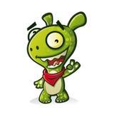 śliczny potwór royalty ilustracja