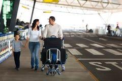 Śliczny rodzinny podróżowanie Fotografia Stock