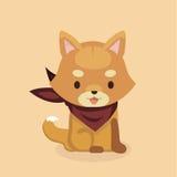 Śliczny Shiba Inu pies Zdjęcie Royalty Free
