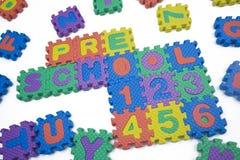 liczy preschool zdjęcia royalty free