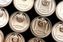 Lid of can Royalty Free Stock Photo