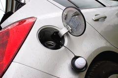 Lid of cars fuel tank Stock Photos