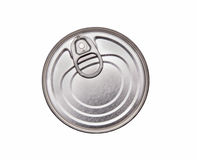 Lid of a tin can Stock Photo