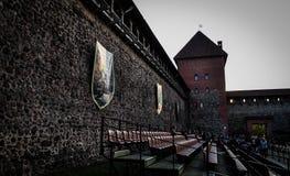 lida Беларусь Замок Lida Фестиваль пива Стоковая Фотография RF