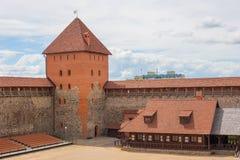 LIDA, БЕЛАРУСЬ - 20-ОЕ ИЮЛЯ 2016: Замок Lida, Беларусь стоковые фотографии rf