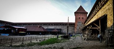 lida belarus Lida Castle Bier-Festival Stockfotos