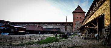 lida belarus Lida Castle Festival de la cerveza fotos de archivo