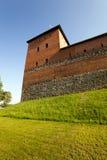 Lida slott, Vitryssland Fotografering för Bildbyråer