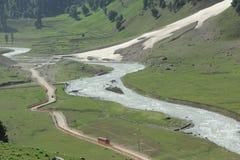 Lidder river. Stock Images