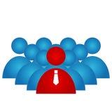 Lider grupa ilustracji
