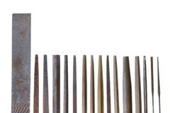 Lider grupa rocznika keysmith metalu kartoteki Obraz Stock