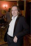 Lider koktajl, piosenkarz i muzyk Konstantin Kuveyzev grupowi, Obrazy Stock