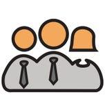 Lider Odizolowywał Wektorowe ikony Które mogą łatwo redagować lub modyfikować ilustracja wektor