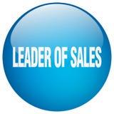 lider sprzedaż guzik ilustracja wektor